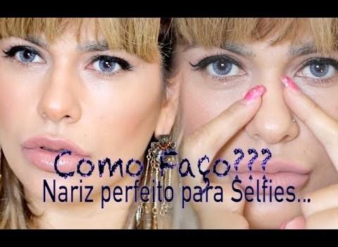 Como faço contorno do meu nariz – Nariz perfeito para Selfies -By Niini Beauty
