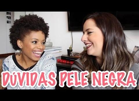 Tirando dúvidas sobre pele negra com Maraisa ♥ por Priscila Paes