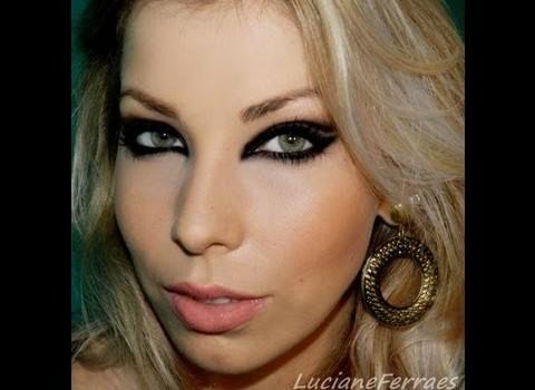 Aprenda fazer Maquiagem Cat Eyes