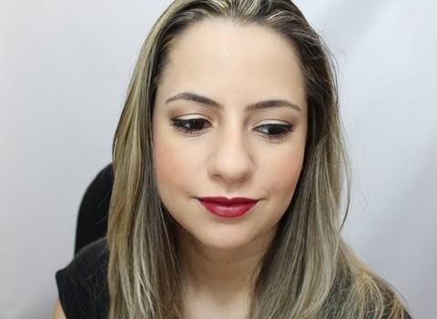 Aprenda fazer Maquiagem especial para Natal