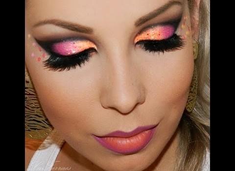 Aprenda fazer Maquiagem Super Carnaval