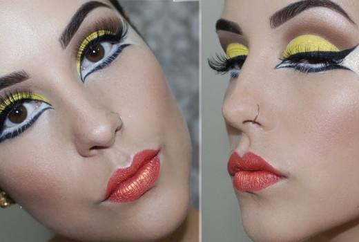 Carnaval: Maquiagem Artística