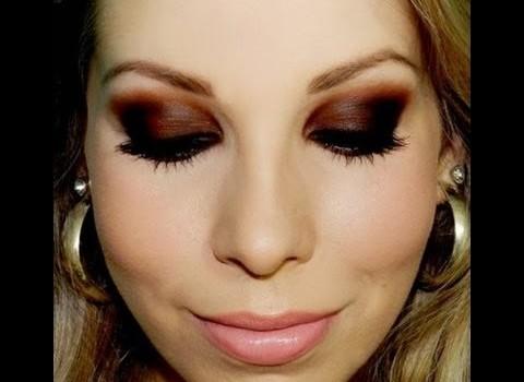 Como fazer Maquiagem super Básica para Noite