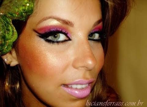 Como fazer Maquiagem Super Carnaval