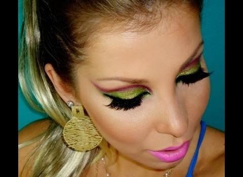 Como fazer uma Belíssima Maquiagem de Carnaval