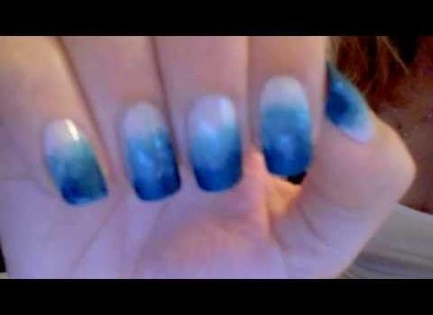 Como fazer unha Degrade – Ombre Gradient Nail art