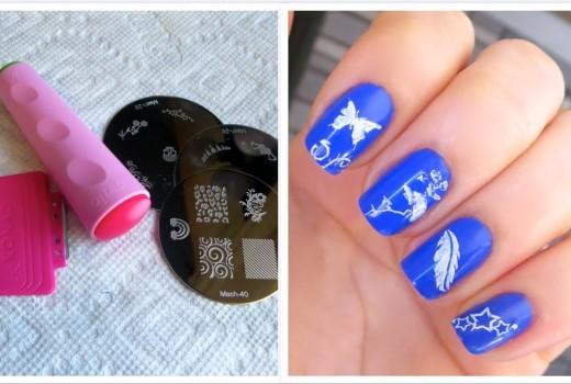 Como Fazer Unhas Decoradas com Carimbo (Passo-a-Passo Como Usar) – How to Nail Art with Stamp
