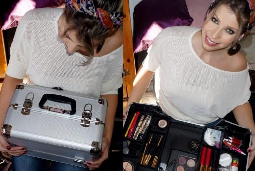 Conheça a Maleta de Maquiagem Vertix