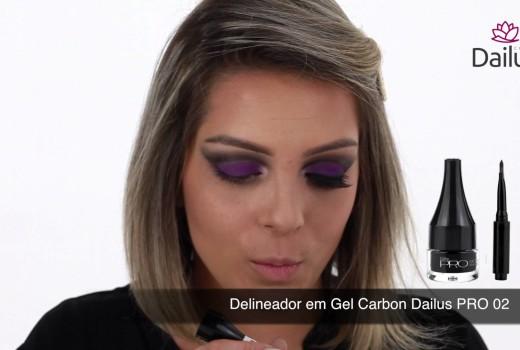 Dica Dailus #17 – Maquiagem Roxa para Festas
