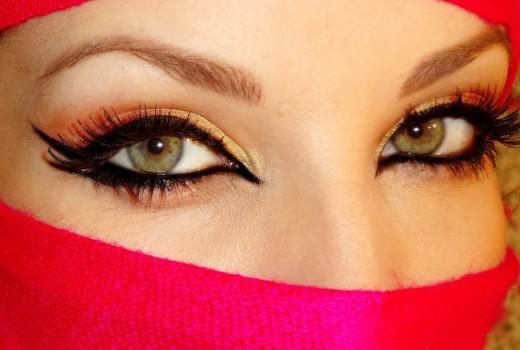 Dica de Maquiagem Árabe com Inspiração na Jade da novela O Clone