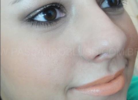 Dica de Maquiagem com Batom Laranja