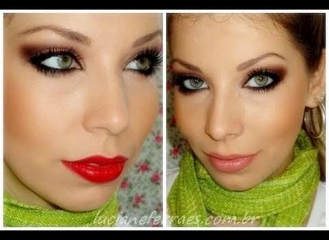 Dica de Maquiagem com Batom Vermelho ou Rosa Neutro