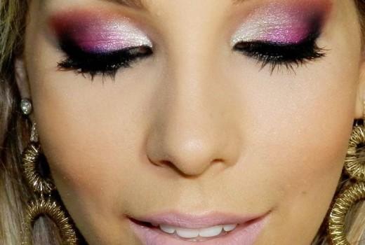 Dica de Maquiagem Glamurosa para Noite de Natal