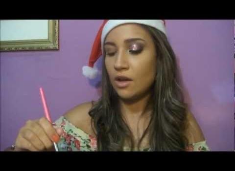 Dica de Maquiagem Incrível para o Natal