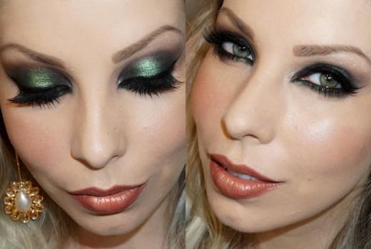 Dica de Maquiagem para Festa com Sombra Verde