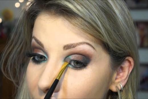 Dica de Maquiagem para Fim de Ano usando a Paleta Cruella da Vult
