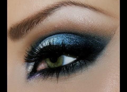 Dica de Maquiagem para Noite com Azul e Prata