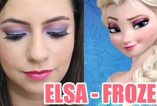 Dica de Maquiagem Roxa Inspirada na Princesa Elsa de Frozen