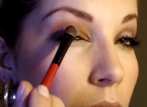 Dica de Maquiagem Simples para Noite de Natal