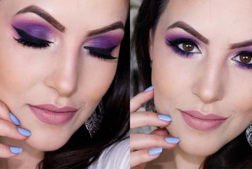 Maquiagem Colorida Fácil