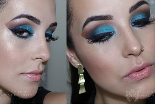 """Maquiagem """"Comportada"""" para o Carnaval"""