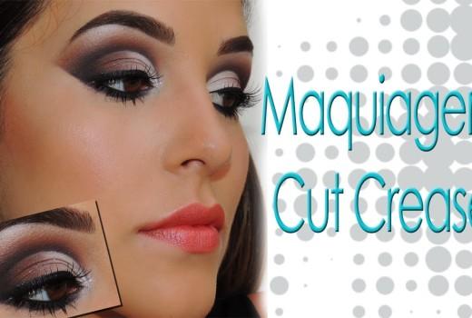 Maquiagem Cut Crease