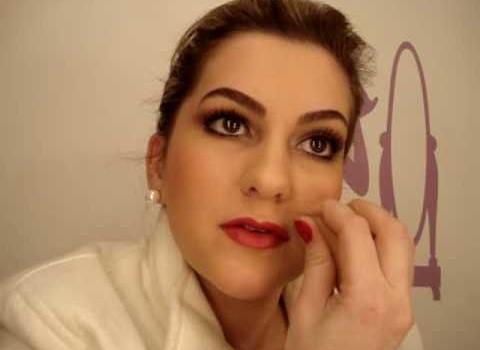 Maquiagem da Melina da novela Passione por Alice Salazar – Parte 3