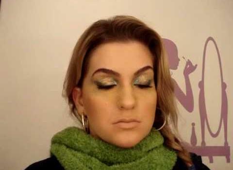 Maquiagem especial para Copa 2010 – Parte 2 por Alice Salazar