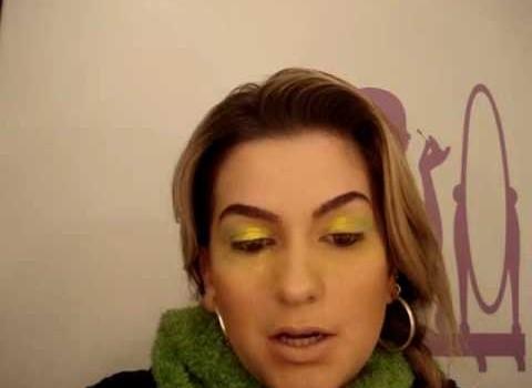 Maquiagem especial para Copa 2010 – Parte 1 por Alice Salazar