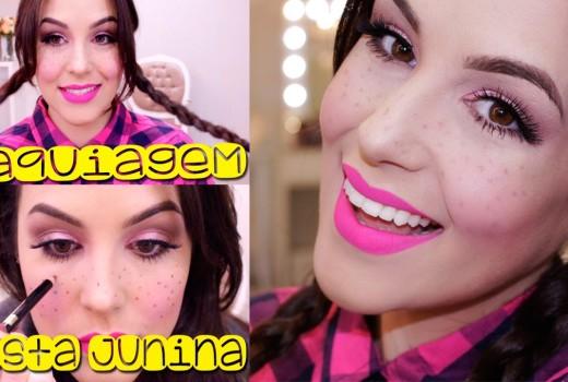 Maquiagem Fácil Festa Junina 2015