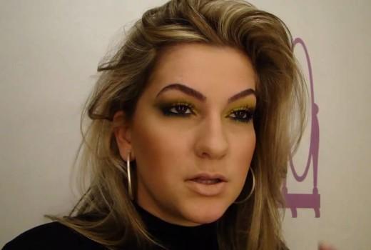 Maquiagem flúor por Alice Salazar