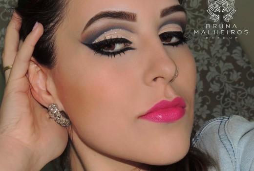 Maquiagem inspiração Nanda Gama