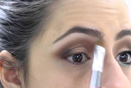 Maquiagem Neutra com Verde Água ♥ Priscila Paes