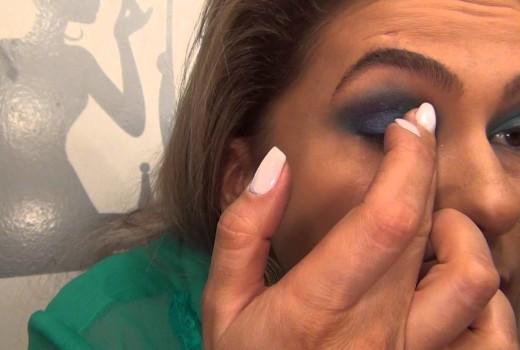 Maquiagem para festas do final do ano por Alice Salazar