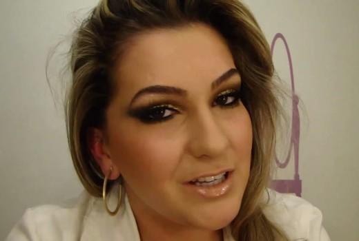 Maquiagem para o Ano Novo por Alice Salazar