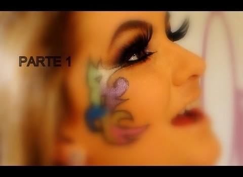 Maquiagem para o carnaval 2012 por Alice Salazar – Parte 1