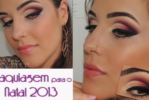 Maquiagem para o Natal 2013