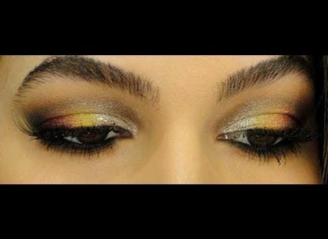 Maquiagem para o Réveillon 2012 por Alice Salazar