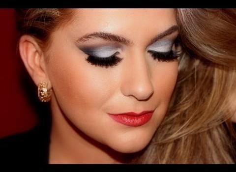 Maquiagem para o Réveillon 2014 por Alice Salazar (te acalma que depois vem a do Natal!Kkkk)