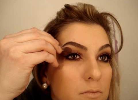 Maquiagem para quem usa óculos por Alice Salazar (aumento dos olhos)