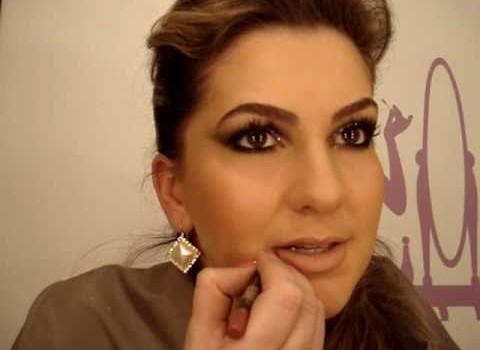 Maquiagem prata com preto por Alice Salazar