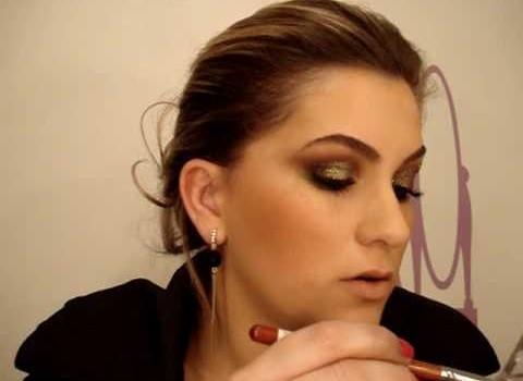Maquiagem verde para noite por Alice Salazar