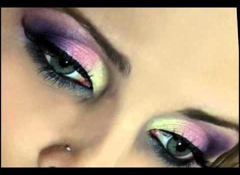 Passo a Passo para Maquiagem Colorida
