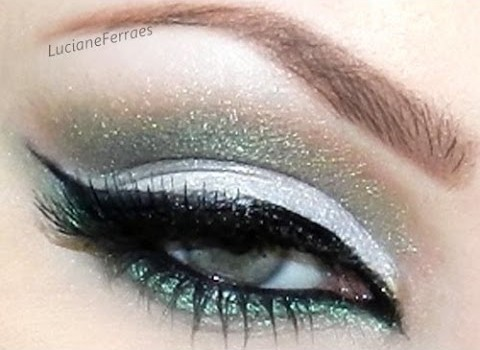 Tutorial de Cut Crease com Sombra Verde