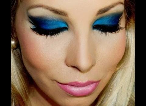 Tutorial de Maquiagem Azul para o Verão