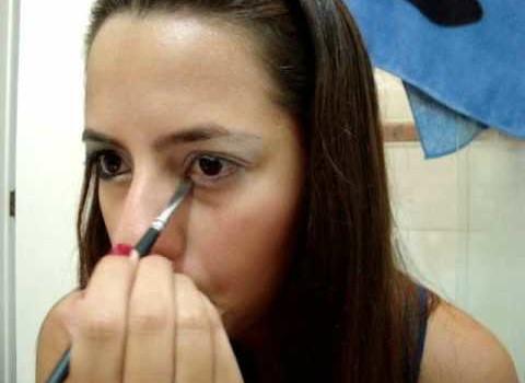 Tutorial de Maquiagem Branco e Preto