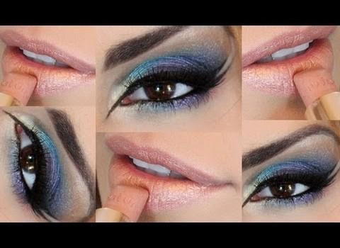 Tutorial de Maquiagem Colorida com Paleta Jasmyne 3D