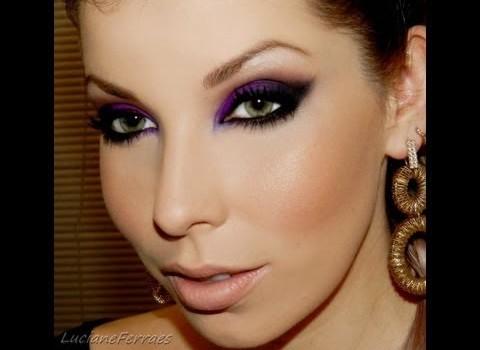 Tutorial de Maquiagem com Olhos Marcantes para Noite