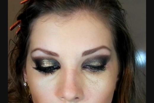 Tutorial de Maquiagem de Festa para Outono
