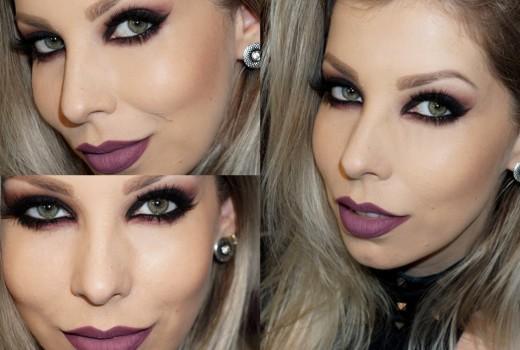 Tutorial de Maquiagem estilo Gótica Suave
